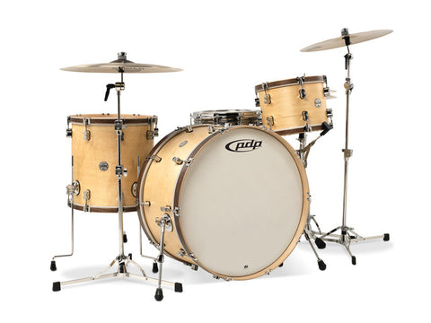 PDP Concept Maple Classics Natural Maple With Tobacco Hoops