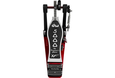 DW Hardware: 5000 Series Accelerator Single Bass Drum Pedal Extended XF Footboard