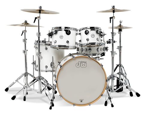 DW Design Series Set, Gloss White 18x22, 8x10, 9x12, 14x16, 5.5x14