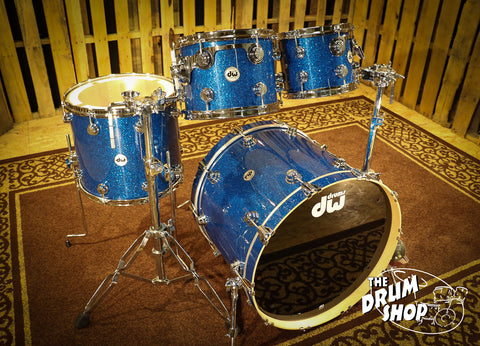 DW Collector's Series Shell Pack Blue Glass FinishPly so# 1005171