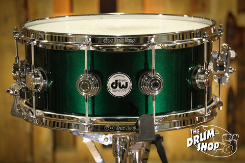 DW Collector's Snare Drum 6x14 Hunter Green