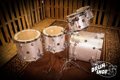 DW Drums Performance Maple Series Silver Sparkle SHELL BANK.