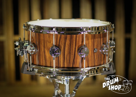 Collectors Exotic Snare Santos Rosewood 6.5x14 so# 1035642