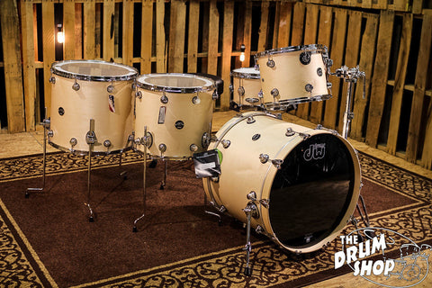 DW Drums Performance Maple Satin Natural SHELL BANK CHOOSE YOUR SIZES