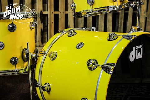 Collector's Solid Chrome Yellow with Candy Yellow Over White Pearl So# 1020606