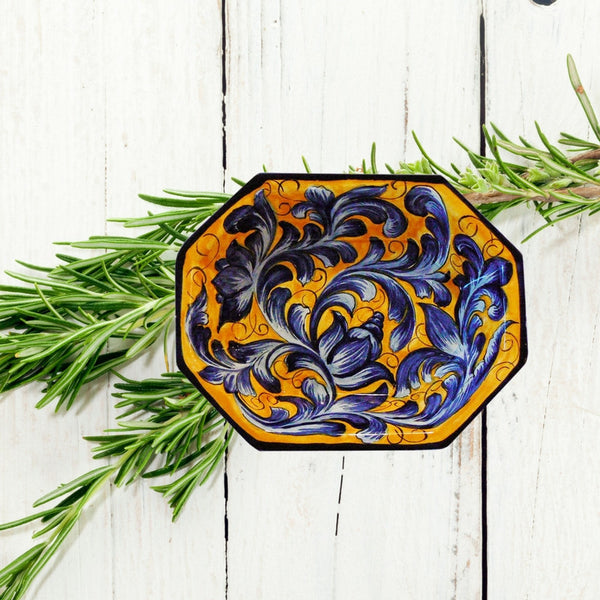 Authentic Majolica Pottery:  Our Azul Collection