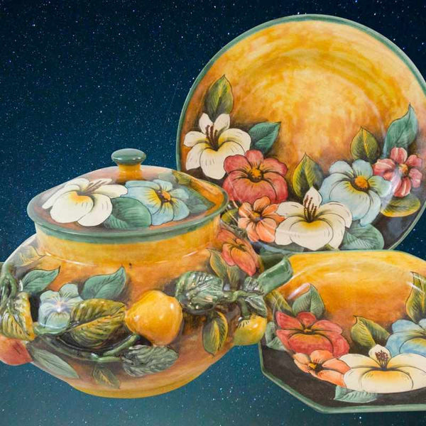 Rustica Gift & Talavera Pottery Colores Collection Majolica Pottery