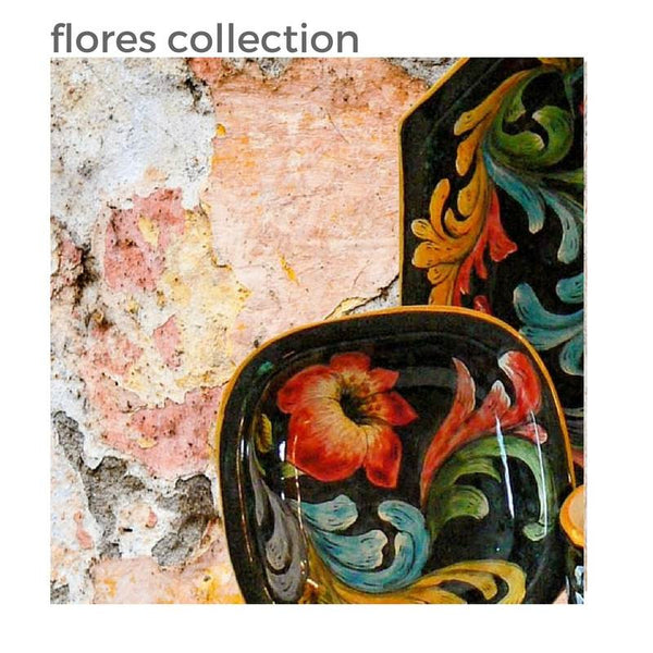 Rustica Talavera Flores Collection Tableware