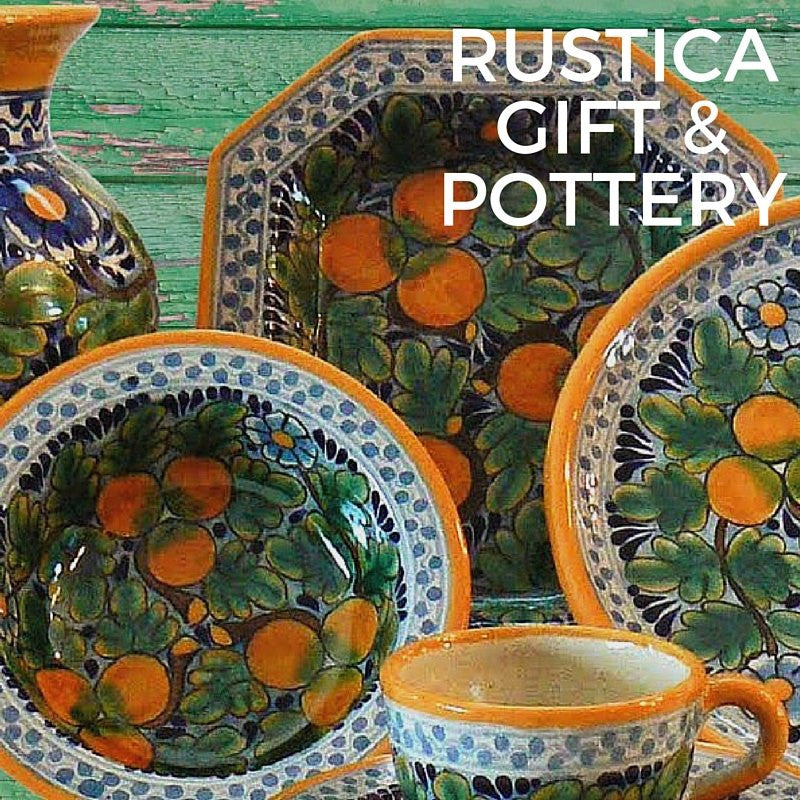 Rustica Gift & Pottery Announces Artisan Talavera, Pewter Gallery Collection