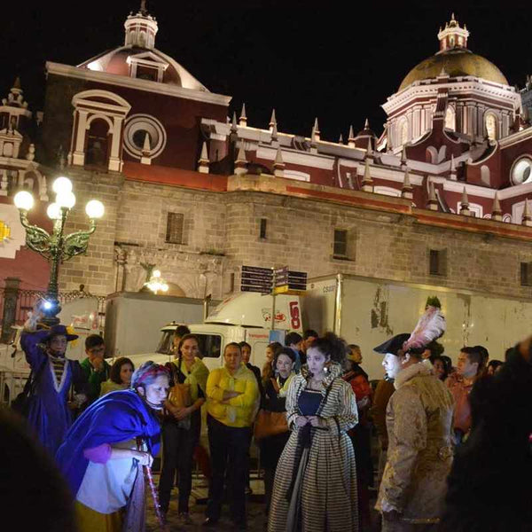 Puebla's Zocalo - Mexico's Beautiful Culture