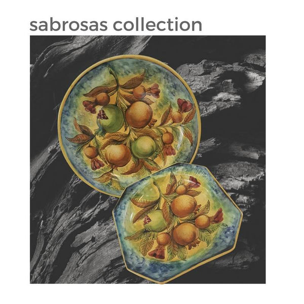 Italian Pottery's Beautiful Cousin:  Meet the Sabrosas Talavera Collection