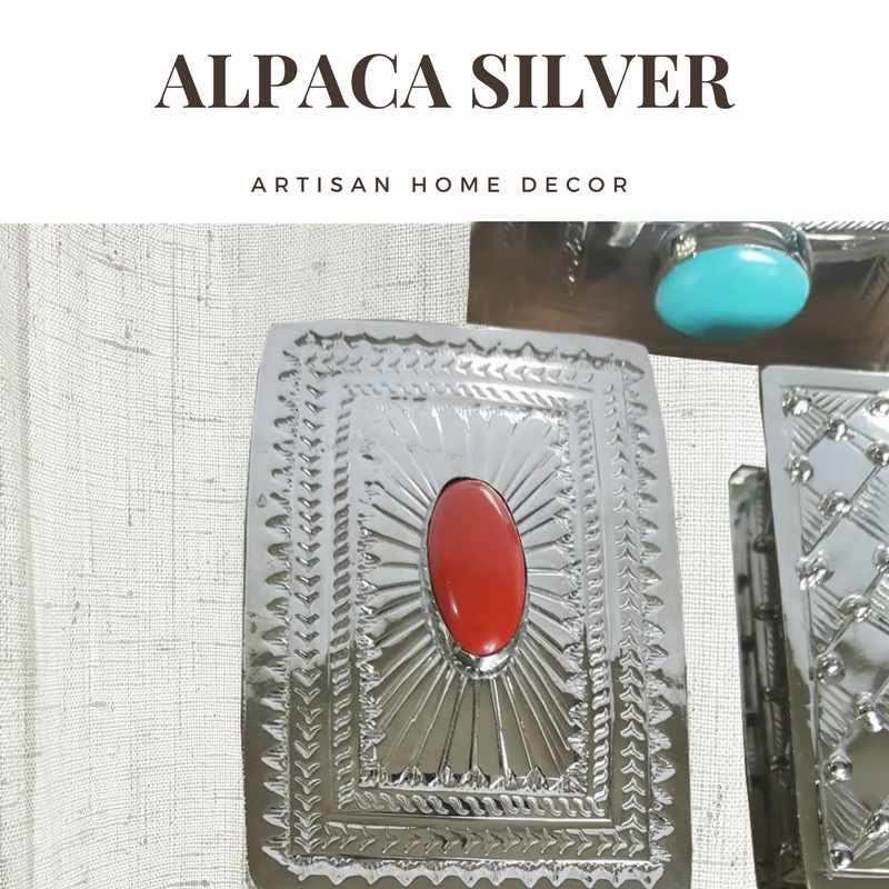 Artisan Home Decor: The Alpaca Silver Tesora Collection | Rustica Gift