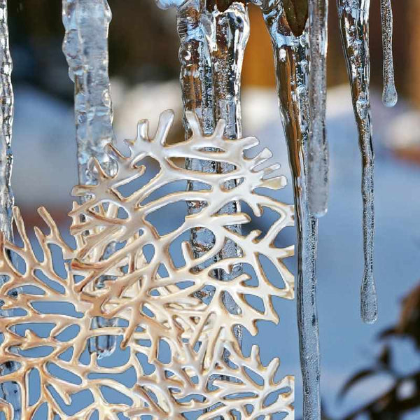 Winter Wonderland;  Beautiful Sparkling Pewter from Mexico