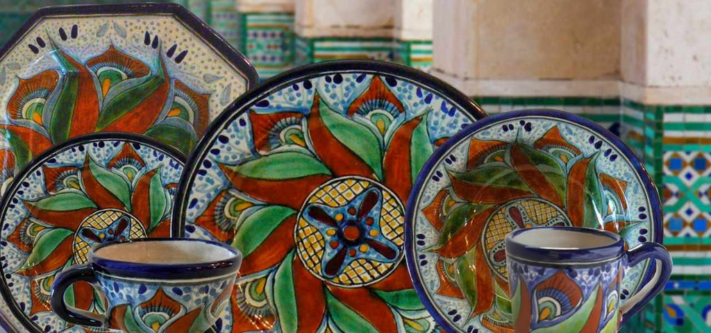 Rustica Gift & Talavera Pottery Aguacate Servingware and tableware