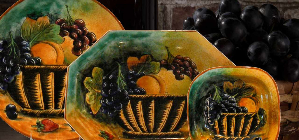 Fall  Thanksgiving Collection Rustica Gift's Finest Tableware and Serving Pieces