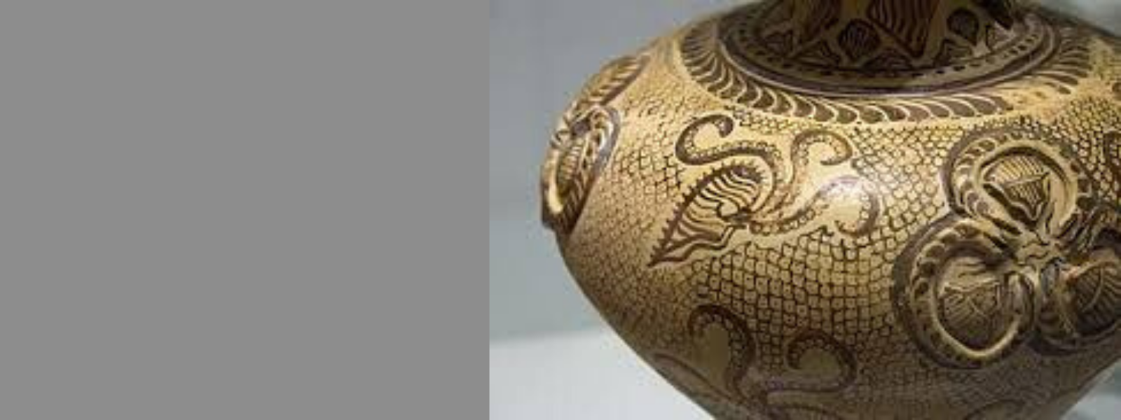 Rustica Gift Minoan Pottery History Marine and Floral