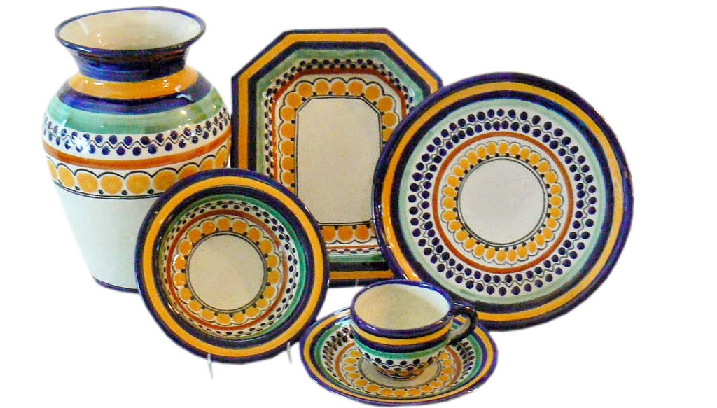 From the Rustica Gift & Pottery Mexican Talavera gallery our Ondo Collection