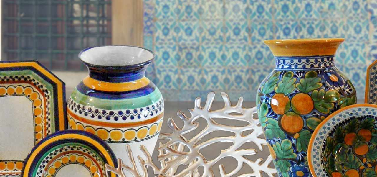 Rustica Gift & Talavera pottery vases and gift collection