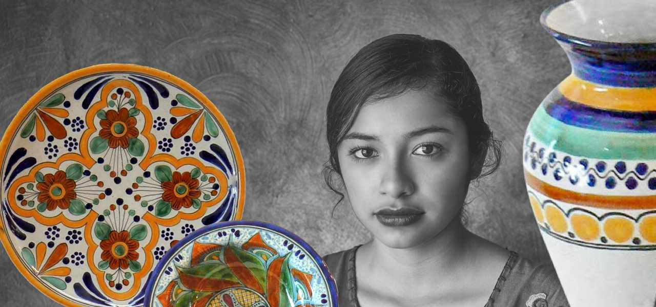 Rustica Gift & Pottery Talavera Mexican pottery and tableware evokes Italian pottery