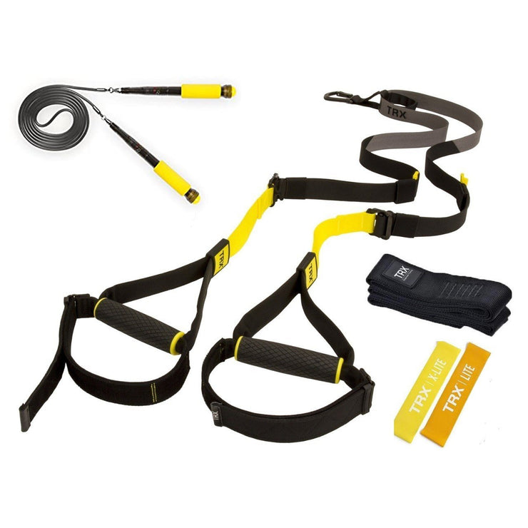 Kit TRX C4 +Jump Rope + Mini Bands + Envio