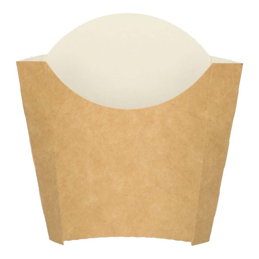 Kraft fritture scoop 9.2x7.7x11.5 cm marrone / bianco medio