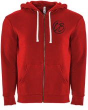 Load image into Gallery viewer, Logo Zipper Hoodie