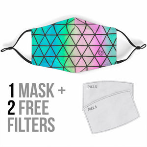 Multi Color Face Mask