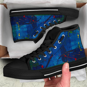 Caribbean Canvas High Top Shoe