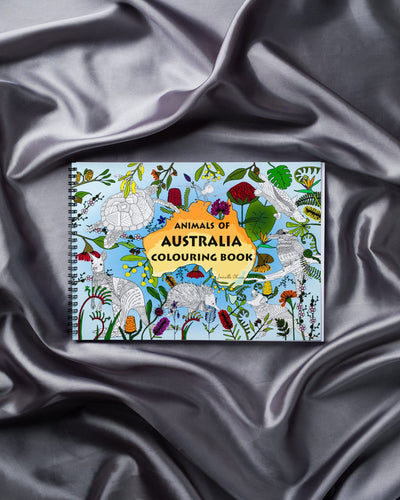 Animals of Australia Colouring Book
