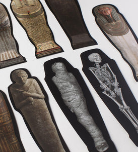Mummy Bookmark & Sticker Set