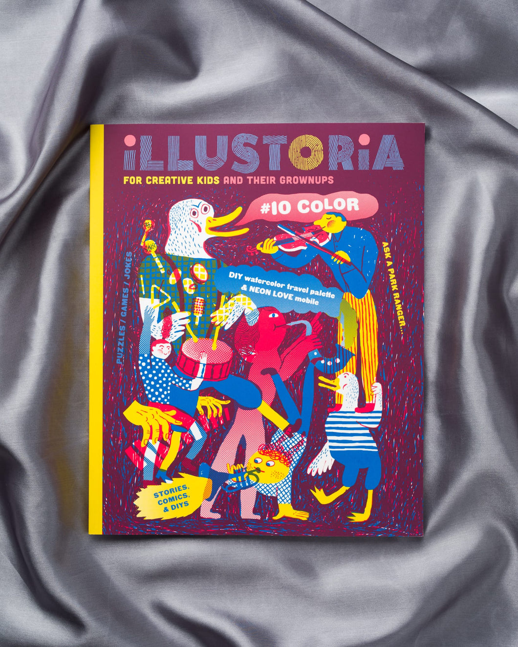 Illustoria Magazine #10 Colour