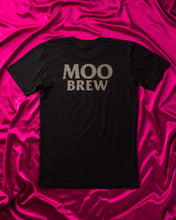 Load image into Gallery viewer, Moo Brew Skull T-Shirt Black