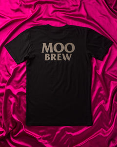 Moo Brew Skull T-Shirt Black