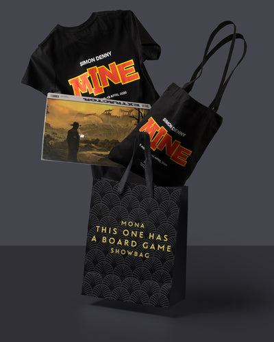 'THIS ONE HAS A BOARD GAME' SHOWBAG