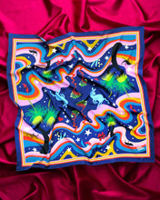 Load image into Gallery viewer, Julie White Square Scarf Astral Nights