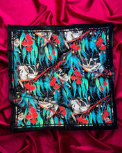 Load image into Gallery viewer, Julie White Small Silk and Cotton Scarf Nocturnal