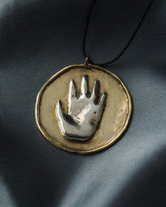 Andy Hutson Idol Hands Necklace