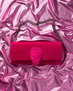 Cane Toad Clutch by Kobja – Fuchsia