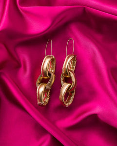 Gabbee Stolp Gold Earrings