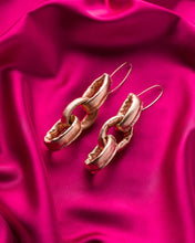 Load image into Gallery viewer, Gabbee Stolp Soft Chains Rose Gold Earrings