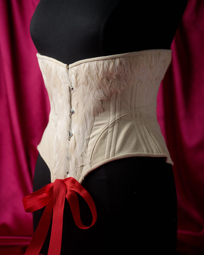 Leda and the Swan Corset