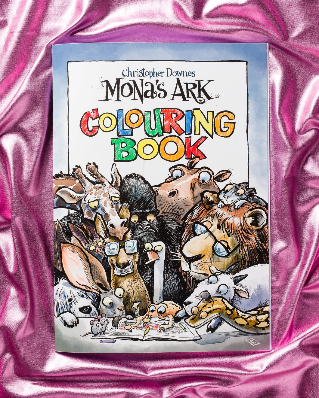 Mona's Ark Colouring Book