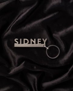 Sidney Key Ring