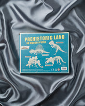 Load image into Gallery viewer, Tyrannosaurus: Prehistoric Land 3D Wooden Puzzle