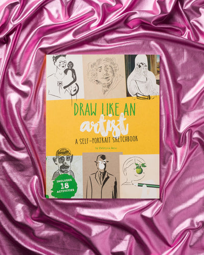 Draw like an artist: A self Portrait Sketchbook
