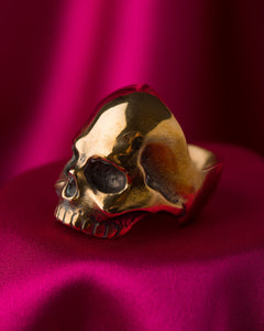Jon Williamson Bronze Skull Ring