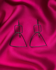 Lisa Furno Shape Earrings Medium