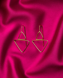Lisa Furno Shape Earrings Small