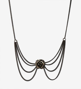 Victorian Rose Necklace