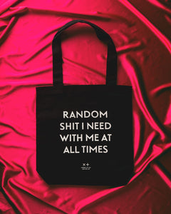 Mona Tote – Random Shit I Need with Me at All Times